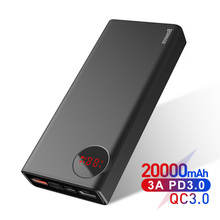Baseus 20000mAh Power Bank Quick Charge 3.0 PD 3.0 Fast Char