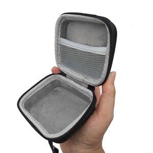 Image 4 - محمولة EVA سحاب غطاء واقٍ مزخرف لهاتف آيفون حقيبة التخزين صندوق للذهاب 2 سمّاعات بلوتوث