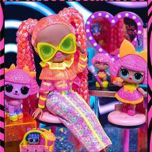 Original LOL Surprise Dolls OMG Bigger Winter Disco Neon  Dress Up  Blind Box Children Girls Toys Luxury New Year Christmas Gift