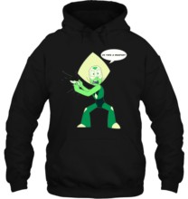 Men Hoodie Peridot Steven Universe MenWhite Shirt Clothing Free Shipping cheap wholesale hot Women Streetwear(China)