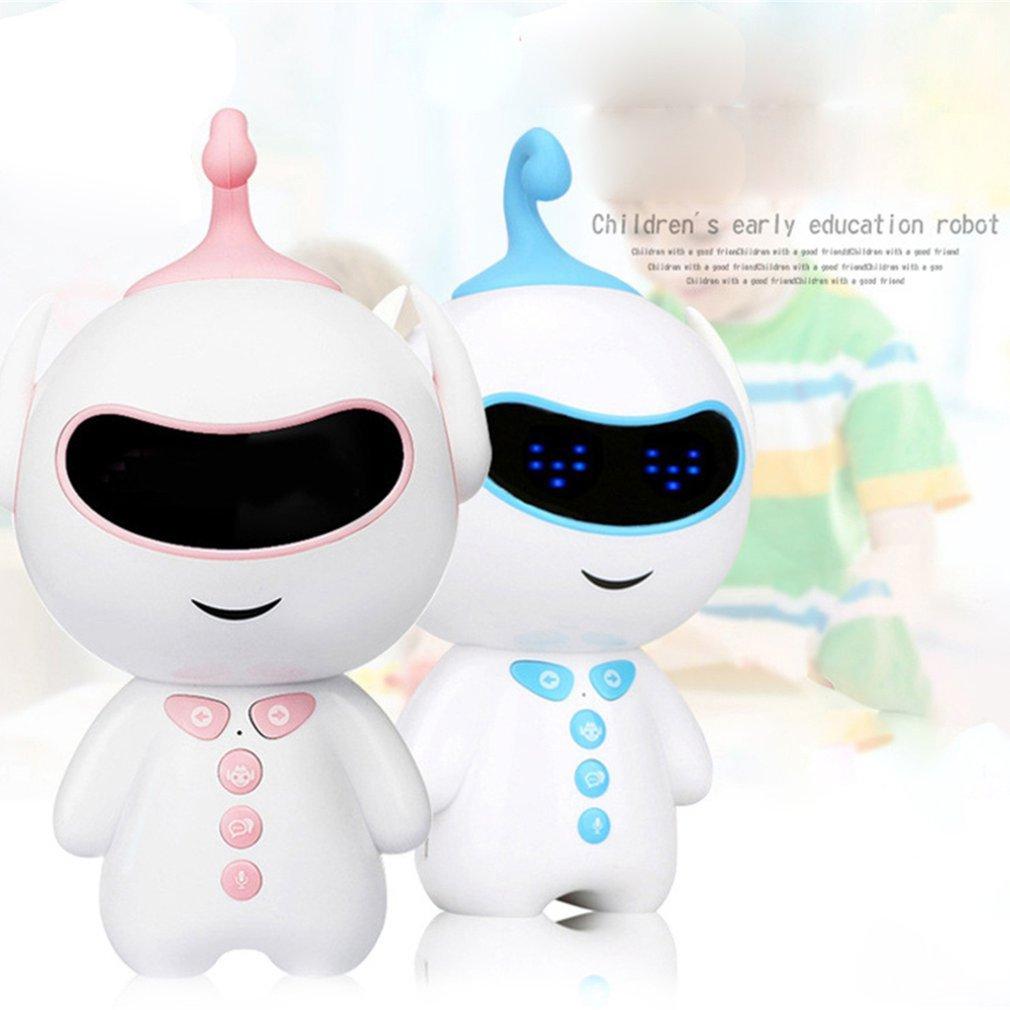 Раннее образование, умный робот, сопутствующий wifi/Bluetooth голосовой обмен, обучающая история, робот-паззл, игрушка