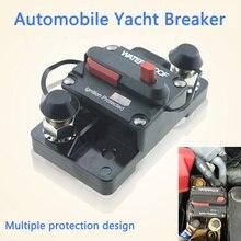 30A 40A 50A 60A 70A 80A 100A 120A 150A 200A 250A 300A AMP מפסק נתיך איפוס 12 48V DC רכב סירת אוטומטי עמיד למים