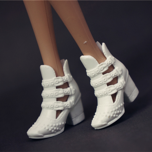Doll Shoes Mix style High Heels Sandals Boots Colorful Assorted Shoes Accessories For Barbie Doll Baby Xmas DIY Toy 7