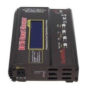 Image 4 - B6 v3 80w 6a lipo bateria balance carregador descarregador versão de atualização com adaptador de alimentação