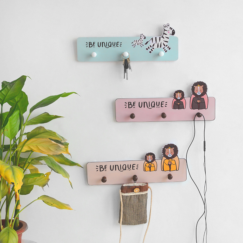 Kids Room Wooden Hooks Decorative Hooks For Children Room Nordic Hooks Hangers Home Decorations  Children Wall Hooks Decoration