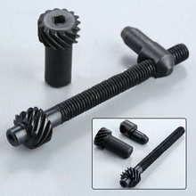 цена на 1 Set Gear Type Chain Adjuster Screw Tensioner for Chinese Chainsaw 45CC 52CC 58CC 4500 5800 Tool Parts Chain Adjuster Tensioner