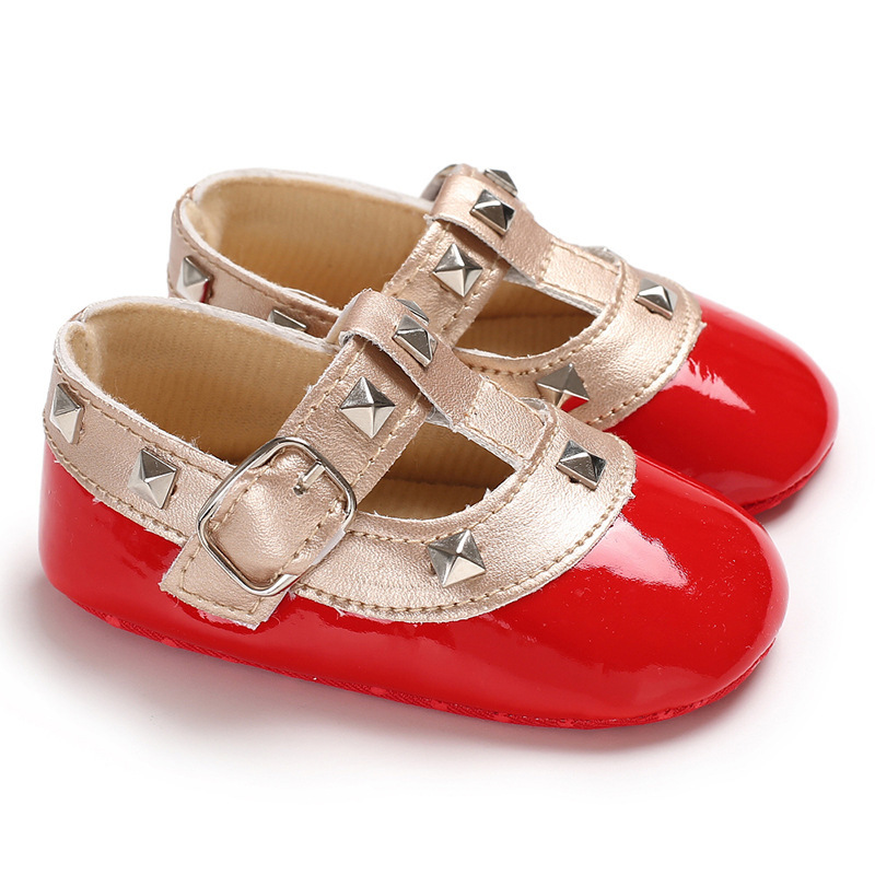 Newborn Shoes Baby Girl Infant Ballet Party  Flats Toddler Soft Cotton Sole First Walkers Toddler Girl Moccasins Crib Shoes
