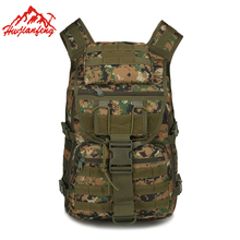 Molle Tactical Backpack Army Military Assault Bags Outdoor Hiking Backpacks Trekking Camping Bag Rucksack Travel Sport Backpack недорого