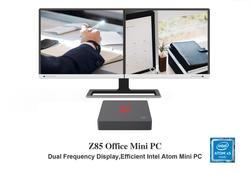 Z85 4USB MINI PC Intel Atom Z8350 up to 1.92GHz 4GB RAM 64GB eMMC windows 10 4K HDMI VGA 5GHz WiFi 1000M LAN win10 Smart TV Box