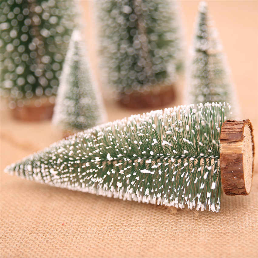 2019 New Christmas Tree New Year's Mini Christmas Tree Small Pine Tree for Home Decorations Christmas New Year Gift Navidad Deco
