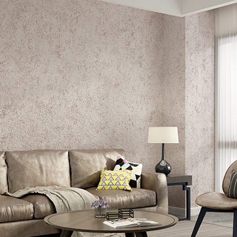 Grey White Concrete Texture Modern Vintage Solid Color Wallpaper Roll Vinyl PVC Cement Pure Color Wall Paper