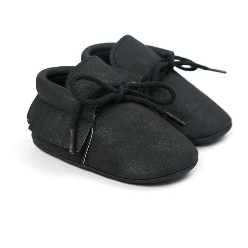 Autumn Spring Newborn Baby Shoes Tassel Crib Toddler Girls Boys Cute Moccasin Shoes Infant Soft Sole Prewalker Casual Sneakers