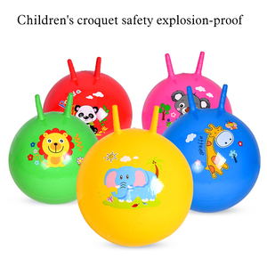 45cm Baby Toys Inflatable Bouncing Balls Claw Handle Ball Children Kids Jump Games Sports Toys Educational Inflatable Toy Ball