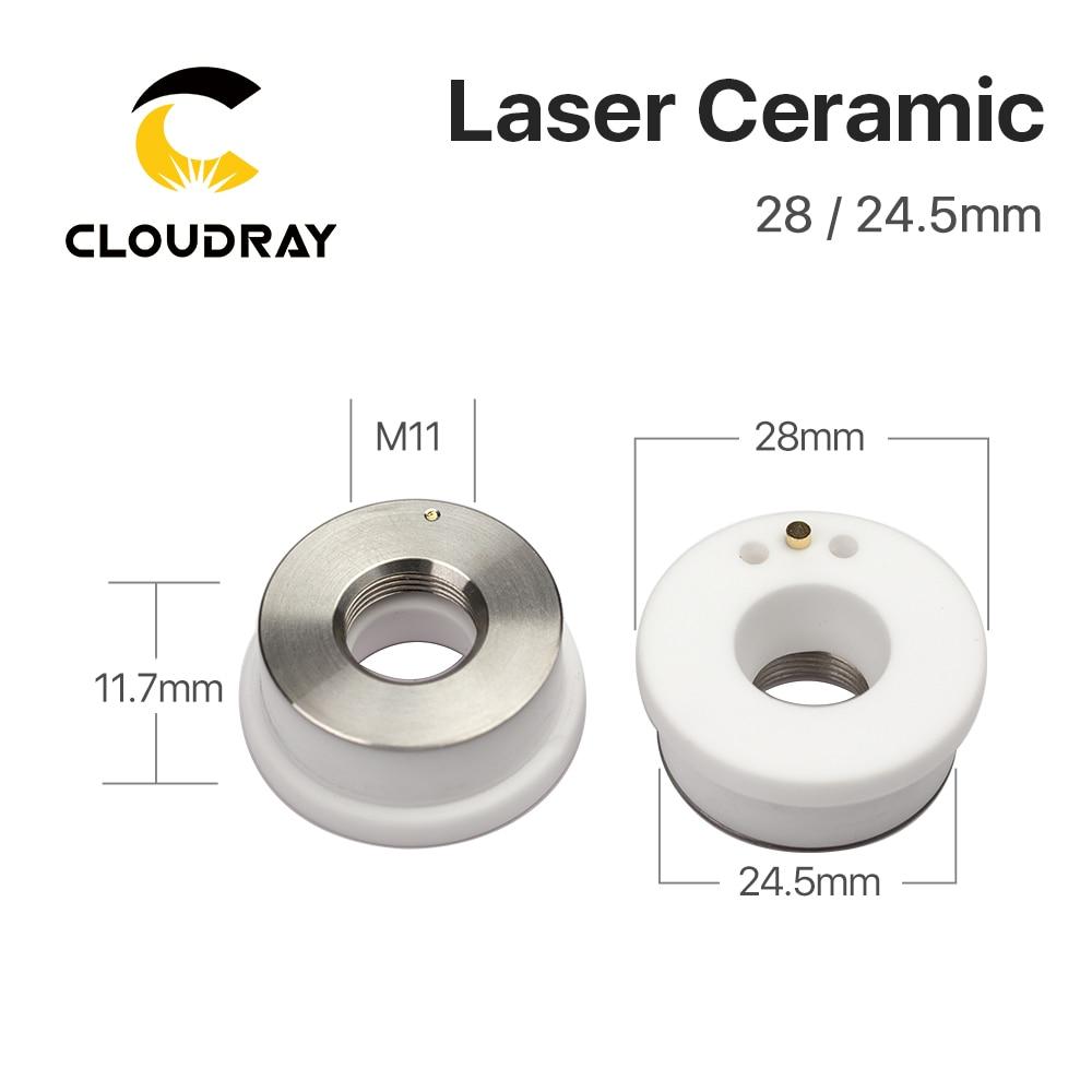 Cloudray Ceramic Parts Boquilla Soporte OEM Paquete de 5 piezas - Piezas para maquinas de carpinteria - foto 4