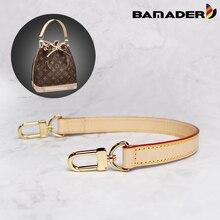 BAMADER obag ידית קצר תיק רצועת קצר כתף רצועת תיק רצועת אמיתי עור תיק חגורה גבוהה באיכות תיק אבזרים