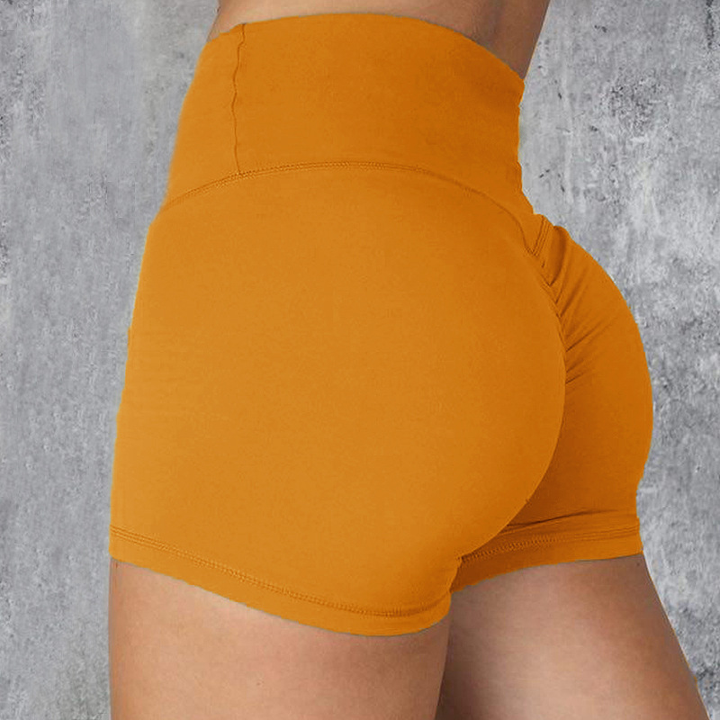 European And American Hot Net Red Fitness Shorts High Waist Tight Shorts Fast Dry Running Fitness Shorts Women