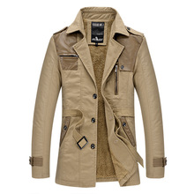 2019 Brand clothing New Winter Jacket Men Thicken