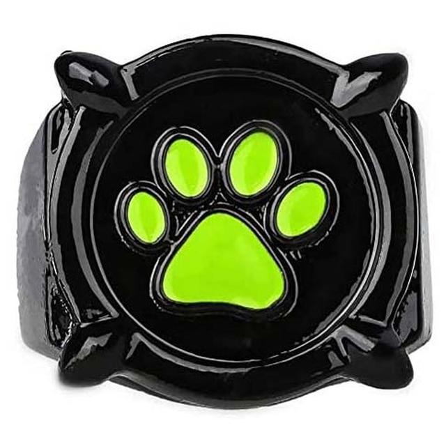 Dog  Rings Cute Black  1