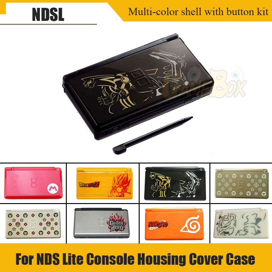Multiple Colour Full Repair Parts Replacement Housing Shell Case Kit With Screwdriver For Nintend DS Lite N DSL