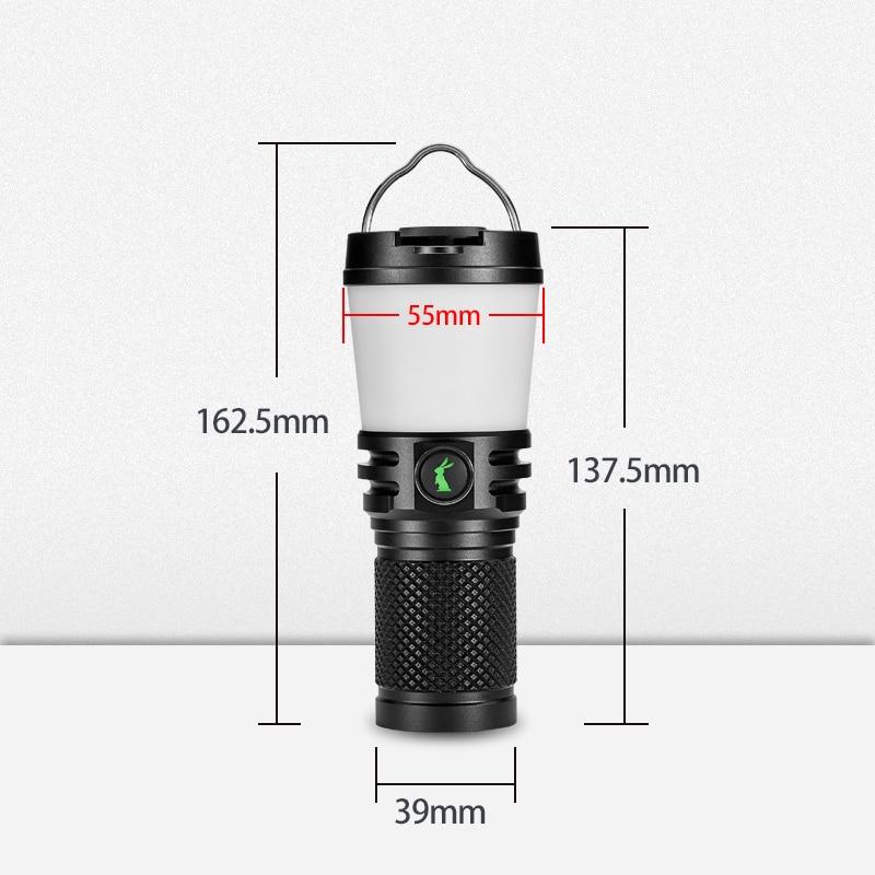 Lumintop-lanterna lanterna ajustável cl2, 14500 lm, 8