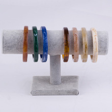 Fashion Round Resin Bracelets & Bangles for Women Boho Jewelry Vintage Bracelet Accessories Statement Gifts