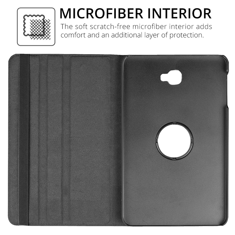 360 Rotating Case for Samsung Galaxy Tab A 10.1 2019 T510 SM-T515 S5E 10.5 T720 T590 T580 T560 T290 S6 Lite 10.4 P610 Case Cover-3