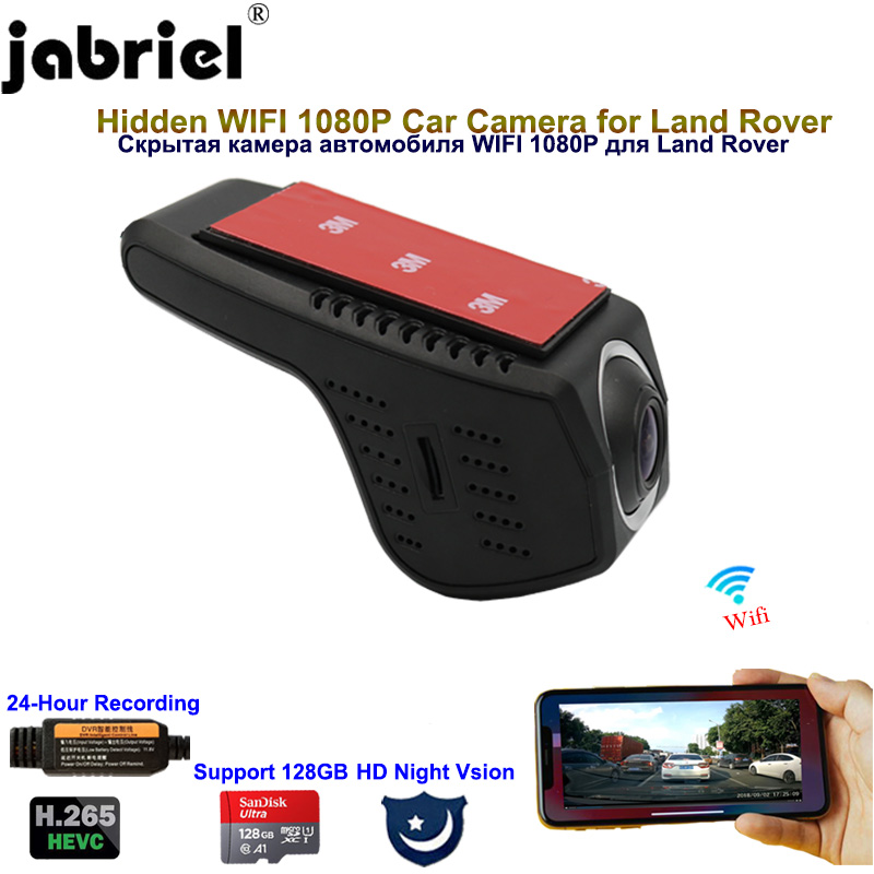 Jabriel 1080P <font><b>Hidden</b></font> <font><b>Wifi</b></font> Night vision dash cam <font><b>car</b></font> <font><b>dvr</b></font> for BMW Mercedes benz Toyota Nissan Mazda Jeep <font><b>Ford</b></font> Renault Land Rover image