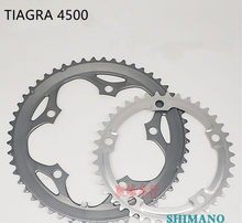 Shimano TIAGRA 4500 Road Fiets 11/22 speed crankstel Kettingblad chain wiel Set 52 39T(China)