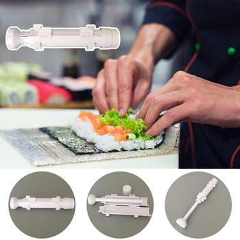 Sushi Maker Roller Rice Mold Japanese Rice Mold Sushi Bazooka Vegetable Meat Rolling Tool DIY Sushi Making Machine 4 Colors image