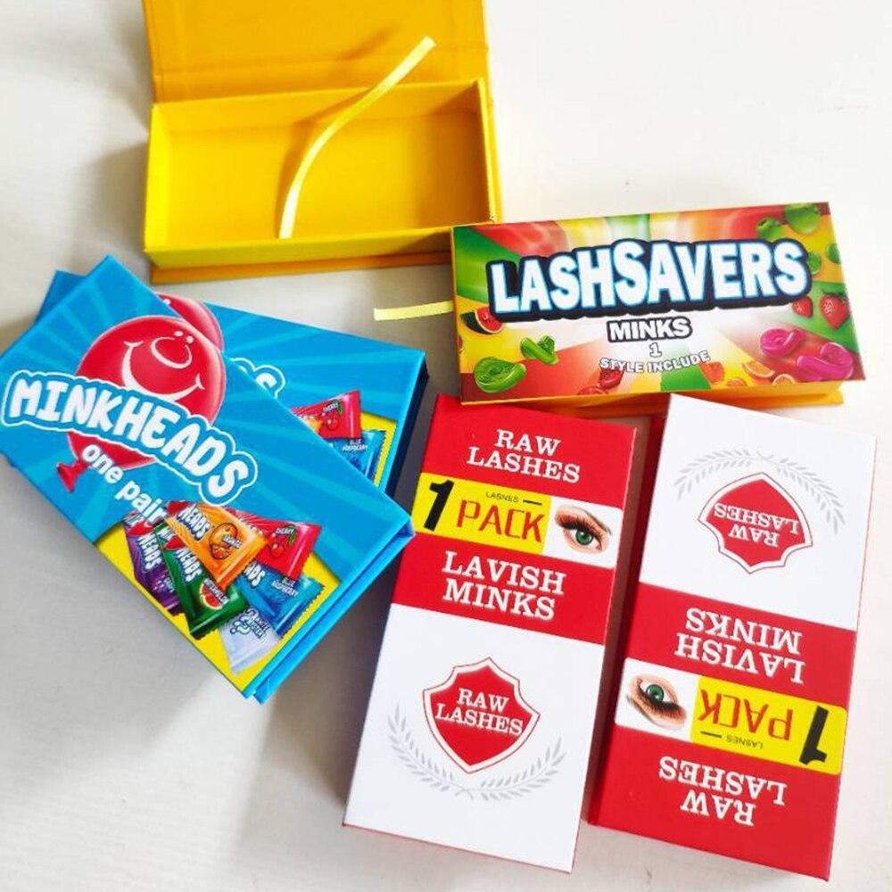 Новый дизайн, желтая и синяя упаковочная коробка для ресниц, оптовая продажа, коробки для ресниц, пустые посылка для ресниц, чехол 8-25 мм, прям...