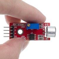 KY 037 Hohe Empfindlichkeit Sound Mikrofon Sensor Erkennung Modul für arduino AVR PIC Sensoren    -