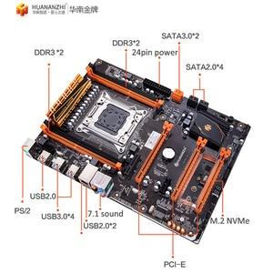 Image 4 - HUANANZHI deluxe X79 LGA2011 האם עם M.2 NVMe חריץ מעבד Xeon E5 2690 C2 2.9GHz עם למעבד רם 32G (4*8G) REG ECC