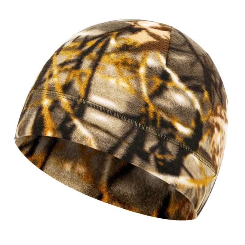 Men Outdoor Winter Warm Fleece Hat Velvet Thicken Hooded Cap Windproof Sports Cycling Hiking Cap