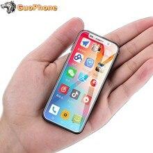Süper Mini Melrose 2019 4G Lte en küçük akıllı telefon 3.4 MTK6739 dört çekirdekli Android 8.1 parmak izi kimliği cep telefonu