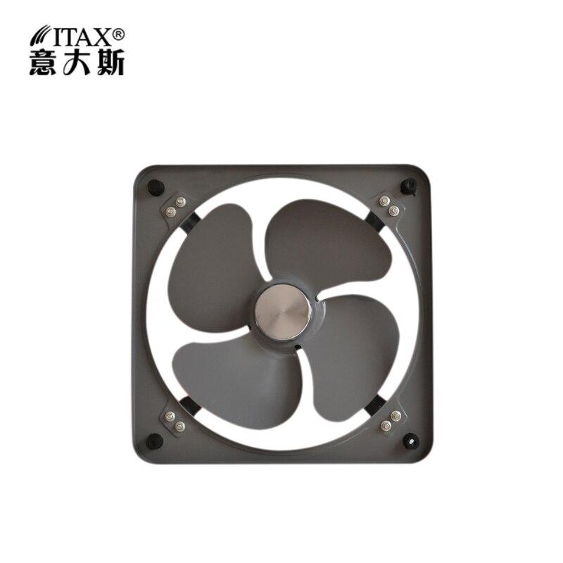 Ventilateur d'extraction de turbine à vent industrielle puissante de ITASFA-300 ventilateur d'échappement droit de 12 pouces roue de vent épaisse spéciale