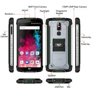 "Image 5 - הגלובלי גרסה HOMTOM מכירה Z11 אנדרואיד 8.1 נייד טלפון IP68 5.99 ""MTK6750T 10000mAh גדול סוללה 4GB RAM 64GB ROM Smartphone"