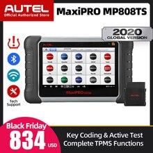 Autel maxipro MP808TS 車診断スキャナ OBD2 自動診断ツール obdii カースキャンツール tpms 機能自動車スキャナ