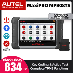 Image 1 - Scanner de voiture dautel MaxiPRO MP808TS Scanner de Diagnostic de voiture OBD2 outil de Diagnostic automatique