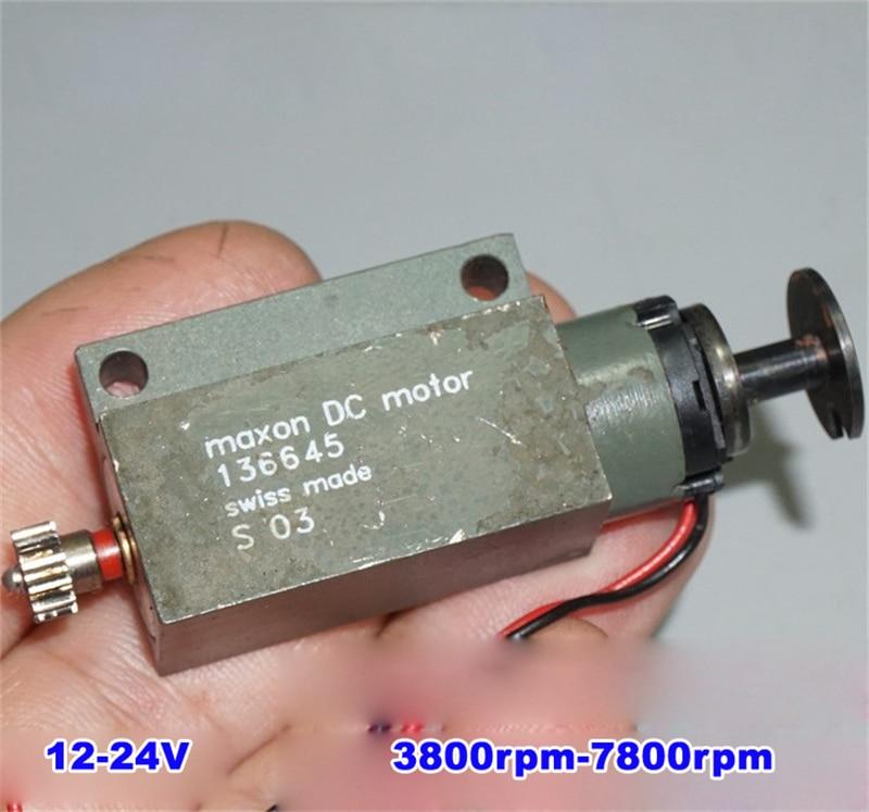 Maxon Coreless DC Motor 24V  136645 Swiss made.