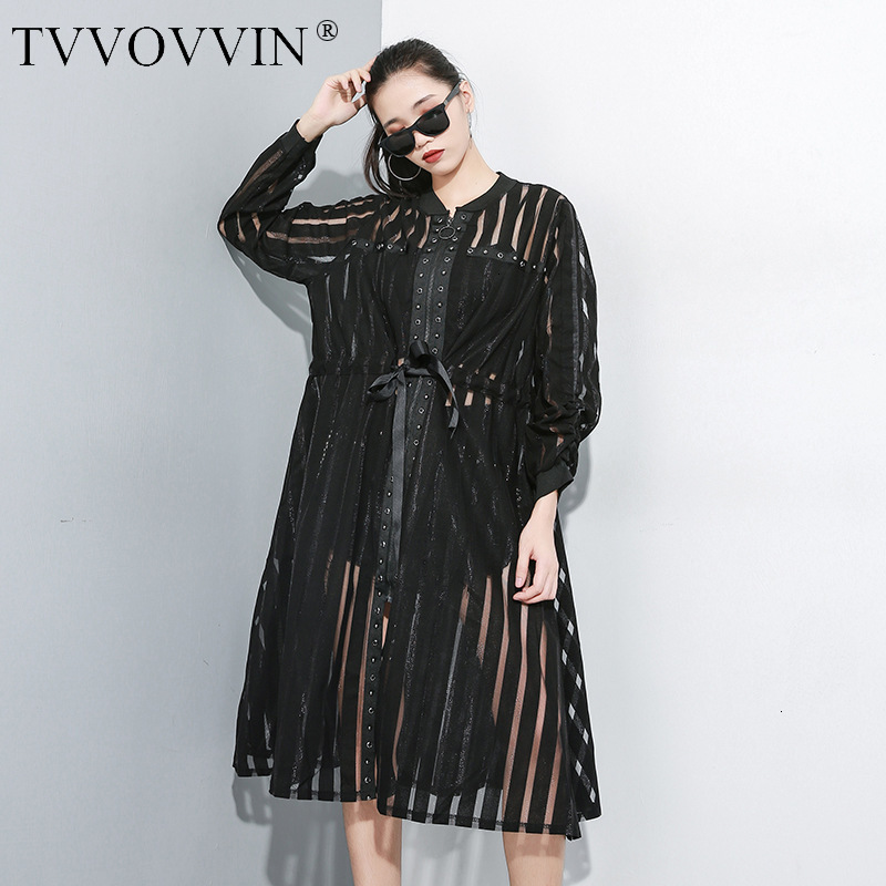 TVVOVVIN 2019Autumn New Perspective Zipper Windbreaker Female Wild Casual   Trench   Coat For Women Long-sleeved Women Clothing X046