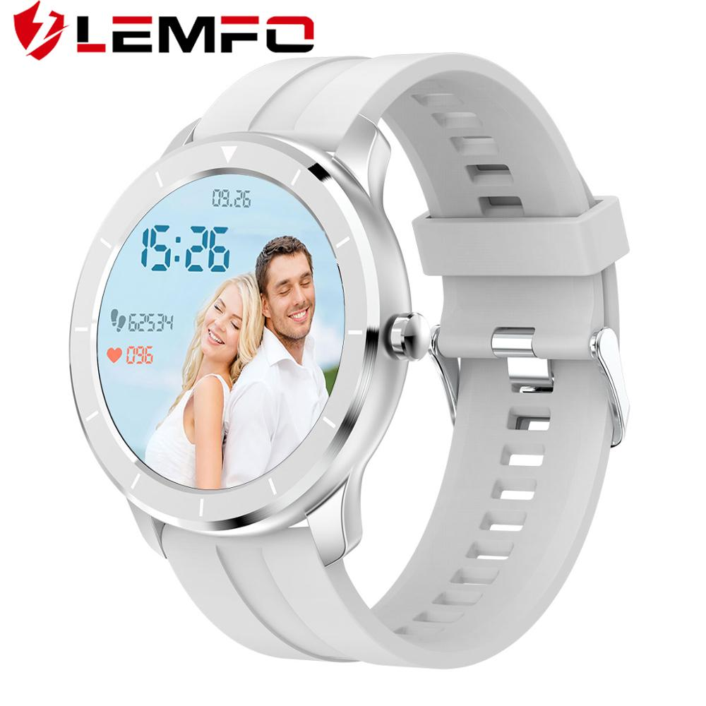 LEMFO T6 Smart Watch 2020 Newest Fitness Tracker Heart Rate Monitor Blood Pressure IP68 Waterproof Smartwatch Sports for IOS