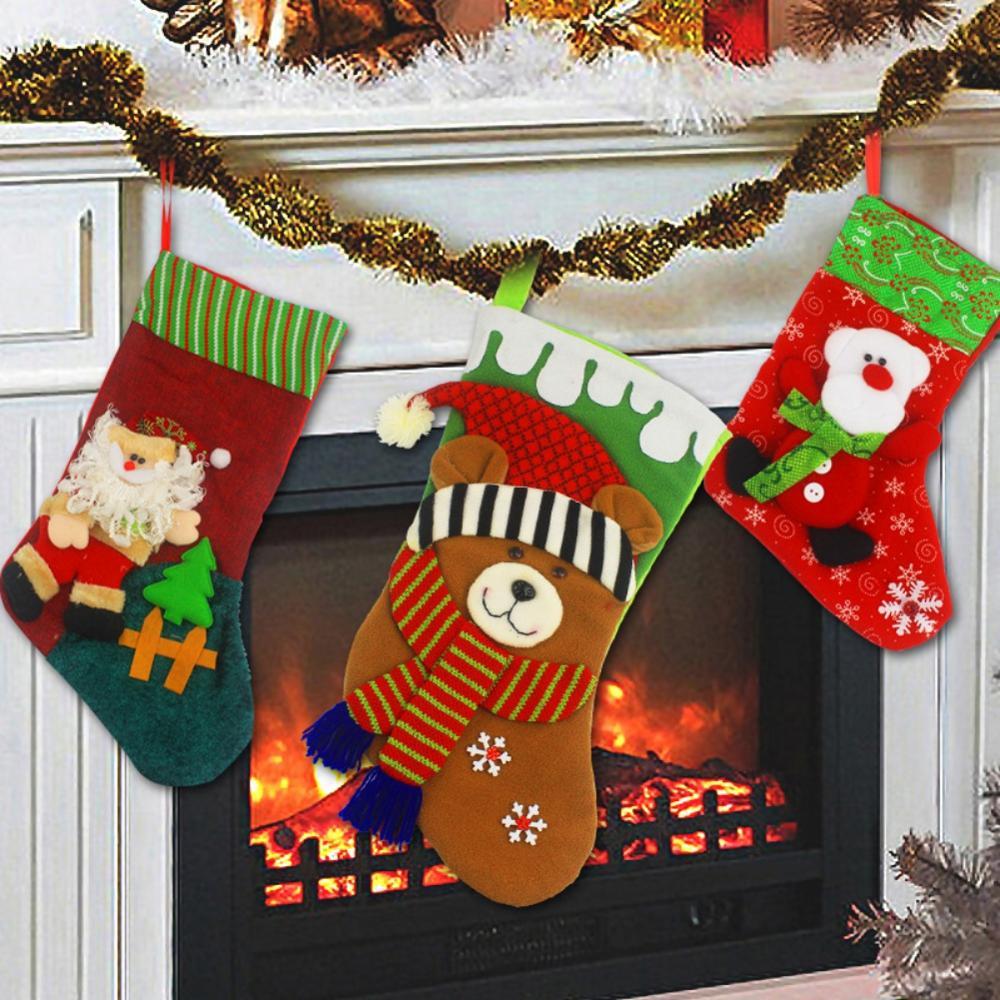 Big Offer #6080 - Adorable Christmas Stockings Xmas Gift ...