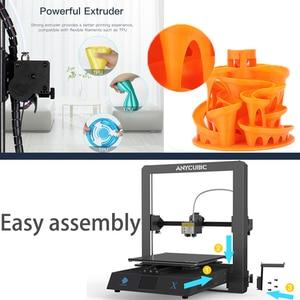 Image 5 - طابعة Anycubic ثلاثية الأبعاد Mega X 300*300*305 مللي متر طابعات Mega X مطبوعة كبيرة الحجم امدادات الطاقة متعددة الأبعاد Impressora
