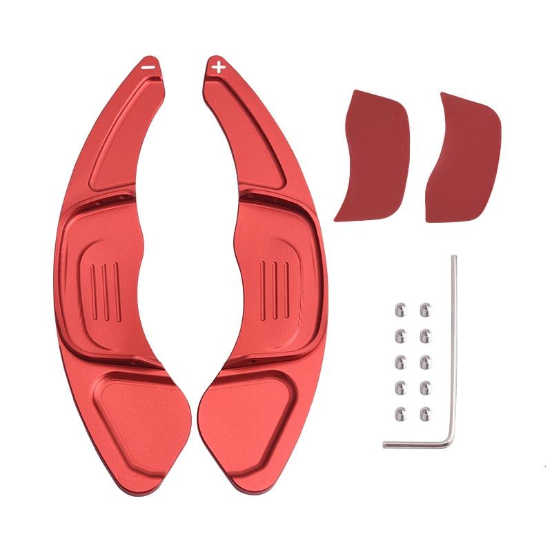 Image 4 - SPEEDWOW 1Pair Car Aluminum Steering Wheel Extension Shift Paddles For Volkswagen VW GOLF 7 2015  GTI R MK7 Scirocco Auto PartsSteering Wheels & Steering Wheel Hubs   -
