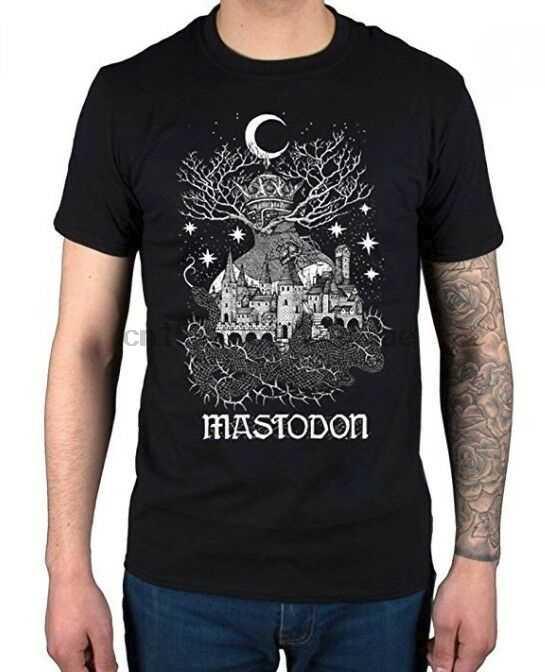 Mastodon Quiet Kingdom camiseta Heavy Metal banda nueva licencia y Amp oficial