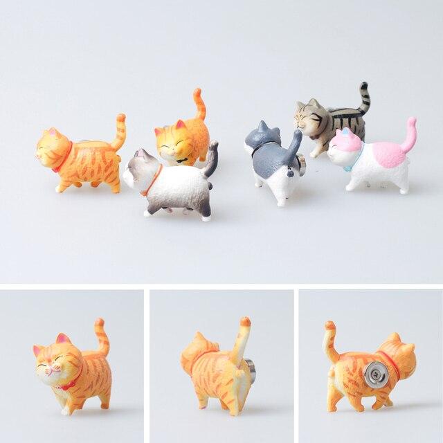 Cute kitty refrigerator paste warm