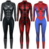 Superhero Sexy Jumpsuit Catsuit Character Venom Cosplay Costumes Halloween Women Bodysuit Fancy