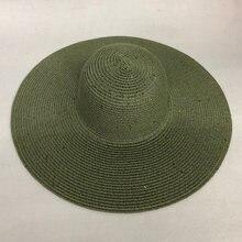 Женская Соломенная шляпка от солнца lvtzj Пляжная ручной работы