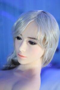 Image 2 - Взрослая полноразмерная Силиконовая секс кукла, каркас, женская кукла для орального секса, секс продукт для мужчин, секс кукла