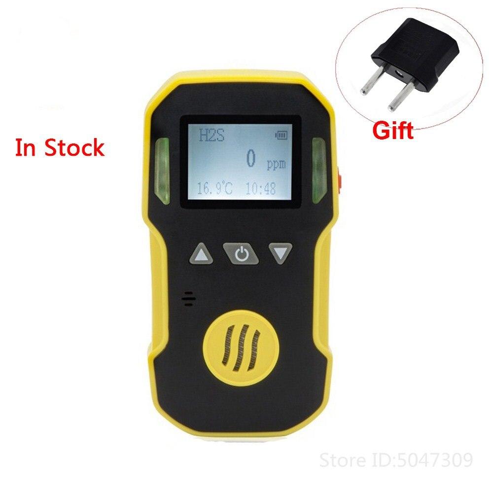 Gas Leak Detector O3 Ozone Gas Monitor With Sound Light Shock Alarm Gas Analyzer Sensor Professional O3 Air Gas Detector